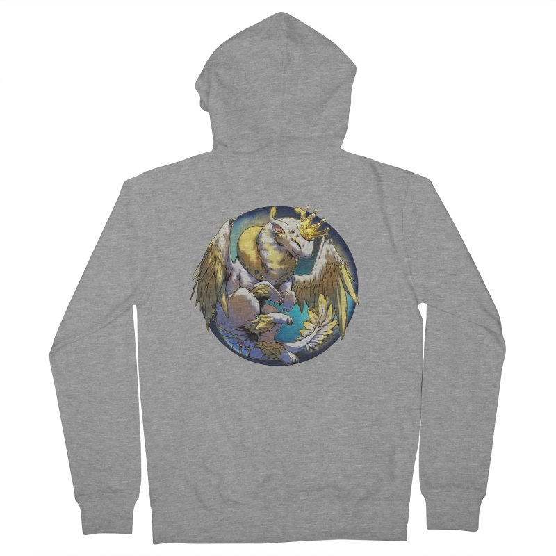 Whirlmoon Snowglobe Women's French Terry Zip-Up Hoody by AdeptGamer's Merchandise
