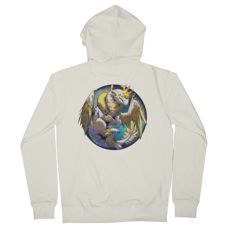 Whirlmoon Snowglobe Men's French Terry Zip-Up Hoody by AdeptGamer's Merchandise