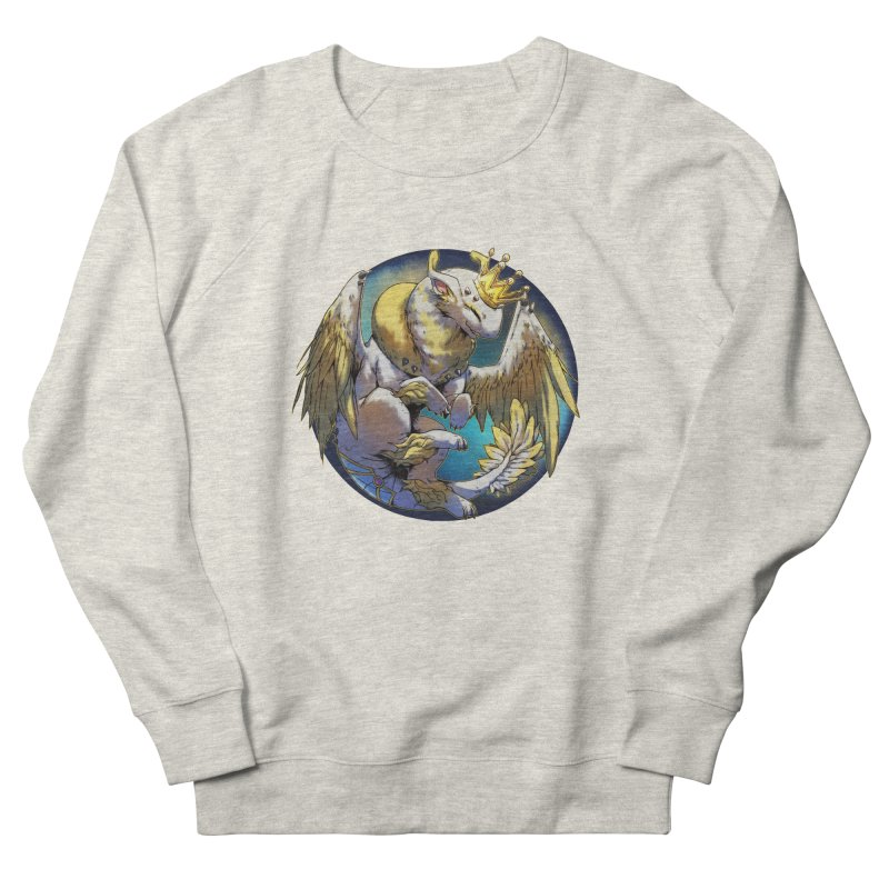 Whirlmoon Snowglobe Men's French Terry Sweatshirt by AdeptGamer's Merchandise