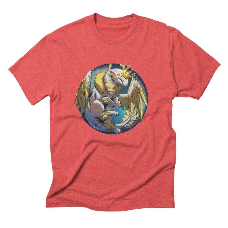 Whirlmoon Snowglobe Men's Triblend T-Shirt by AdeptGamer's Merchandise