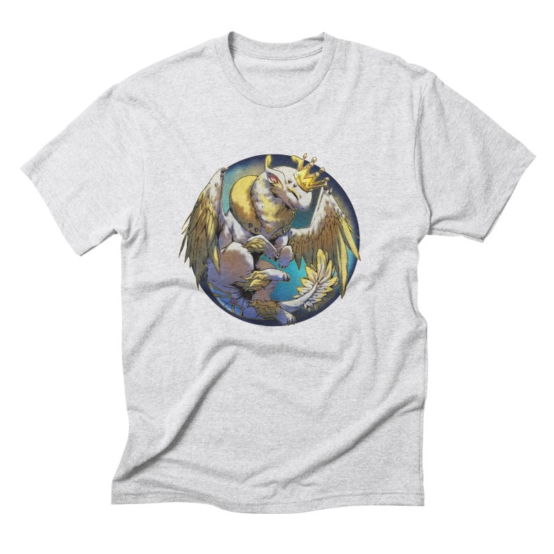 Whirlmoon Snowglobe Men's Triblend T-Shirt by AdeptGamer's Merchandise