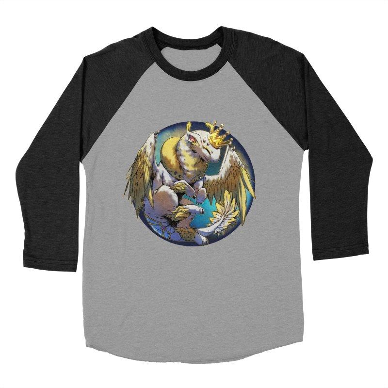 Whirlmoon Snowglobe Men's Baseball Triblend Longsleeve T-Shirt by AdeptGamer's Merchandise