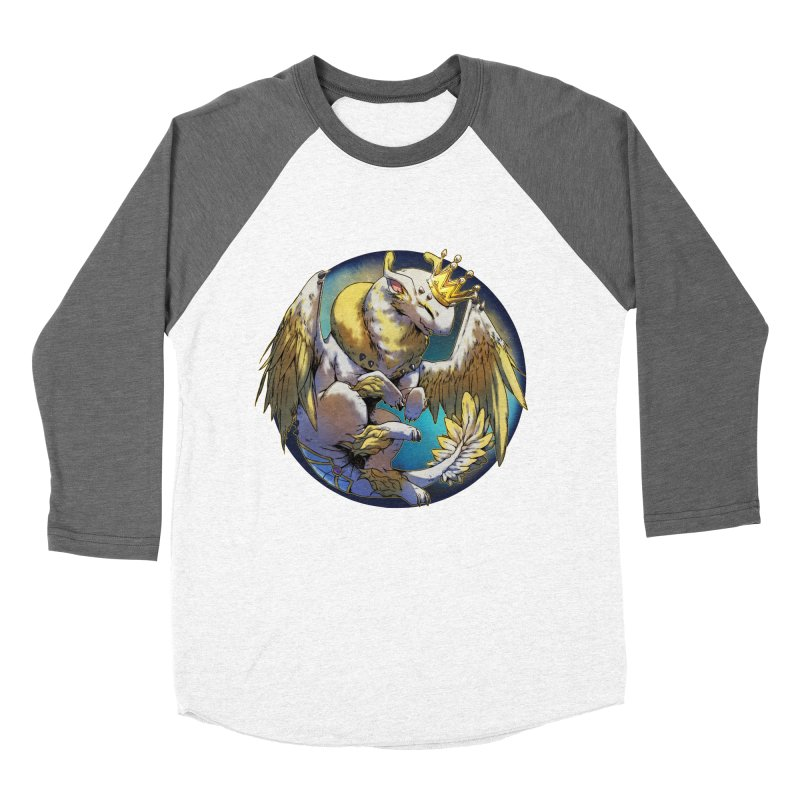 Whirlmoon Snowglobe Men's Baseball Triblend T-Shirt by AdeptGamer's Merchandise