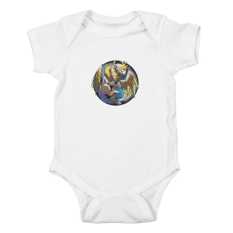 Whirlmoon Snowglobe Kids Baby Bodysuit by AdeptGamer's Merchandise