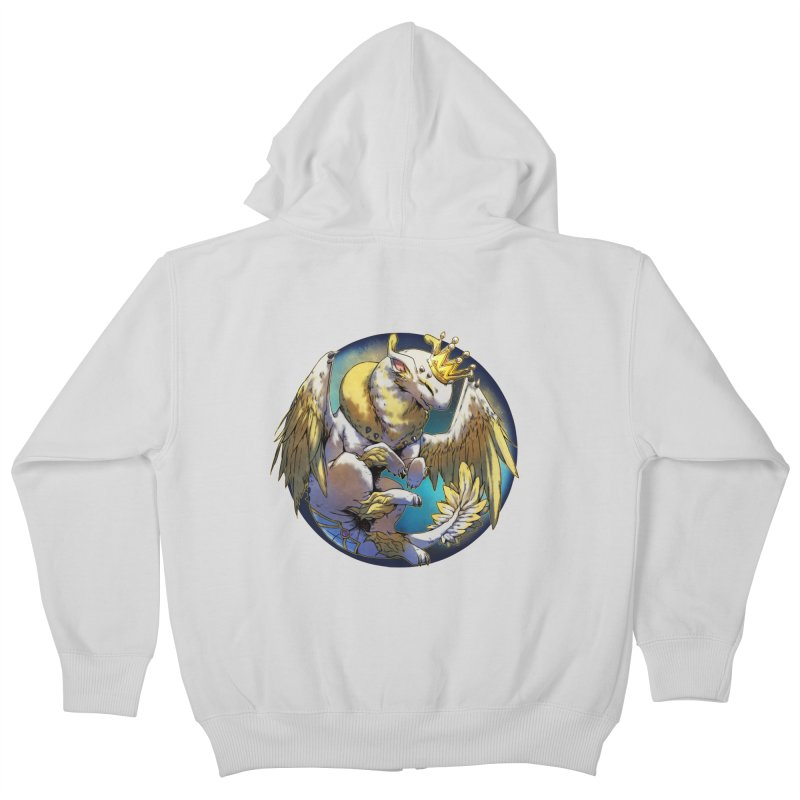 Whirlmoon Snowglobe Kids Zip-Up Hoody by AdeptGamer's Merchandise