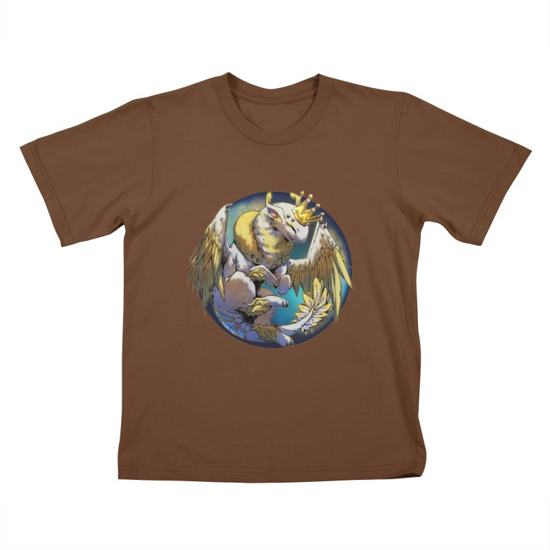 Whirlmoon Snowglobe Kids T-Shirt by AdeptGamer's Merchandise