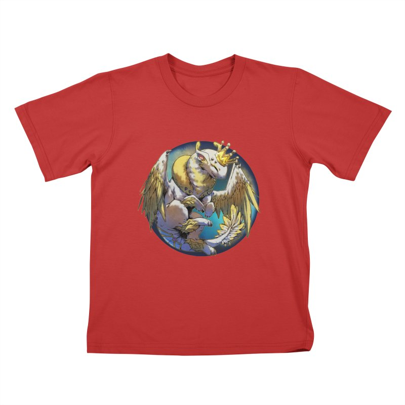 Whirlmoon Snowglobe Kids T-Shirt by AdeptGamer's Merchandise
