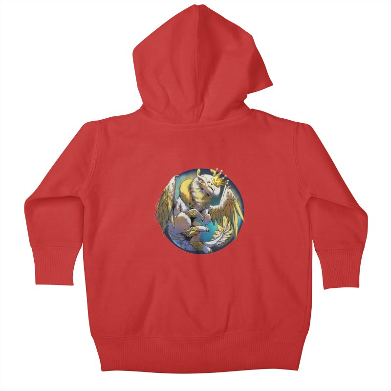 Whirlmoon Snowglobe Kids Baby Zip-Up Hoody by AdeptGamer's Merchandise