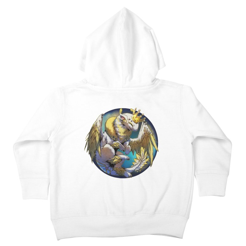 Whirlmoon Snowglobe Kids Toddler Zip-Up Hoody by AdeptGamer's Merchandise