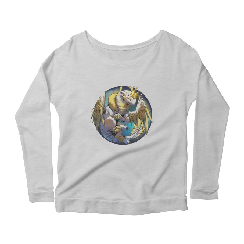 Whirlmoon Snowglobe Women's Scoop Neck Longsleeve T-Shirt by AdeptGamer's Merchandise