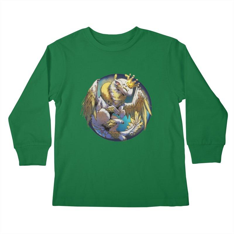 Whirlmoon Snowglobe Kids Longsleeve T-Shirt by AdeptGamer's Merchandise