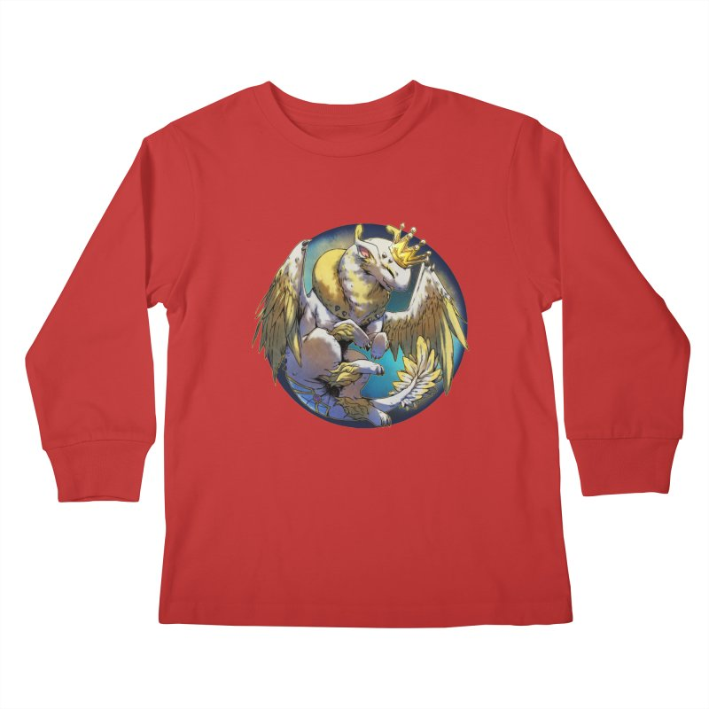 Whirlmoon Snowglobe Kids Longsleeve T-Shirt by AdeptGamer's Merchandise