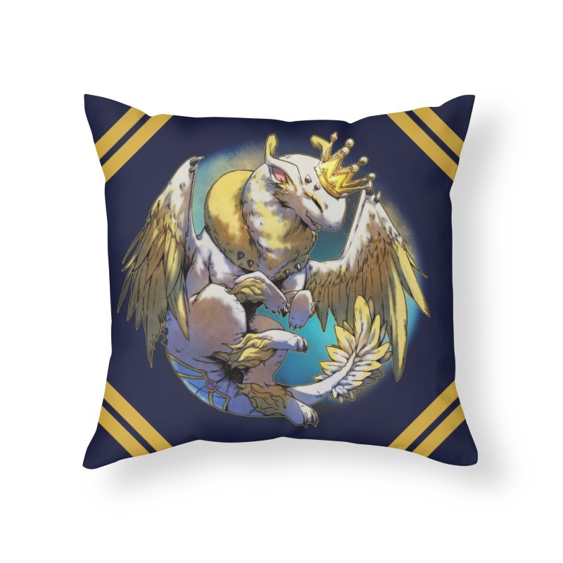 Whirlmoon Snowglobe Home Throw Pillow by AdeptGamer's Merchandise