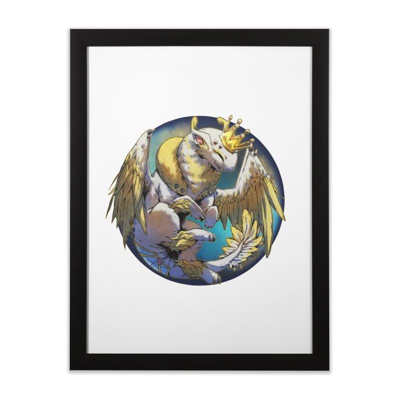 Whirlmoon Snowglobe Home Framed Fine Art Print by AdeptGamer's Merchandise