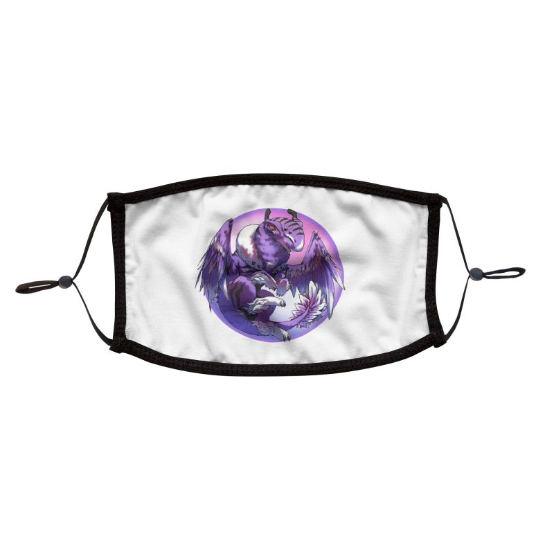 Fleeting Dream Snowglobe Accessories Face Mask by AdeptGamer's Merchandise