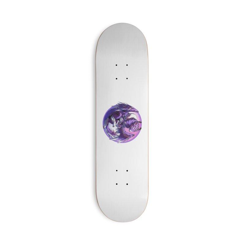 Fleeting Dream Snowglobe Accessories Skateboard by AdeptGamer's Merchandise