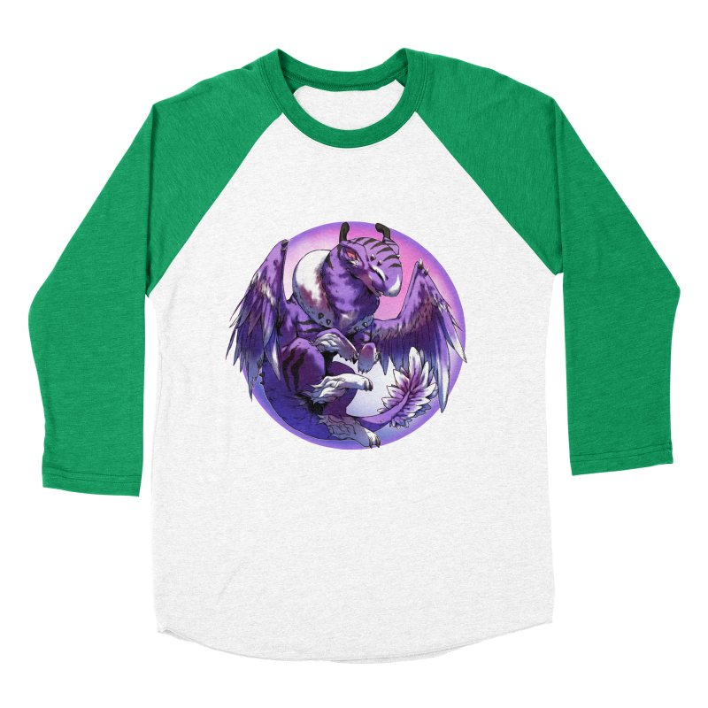 Fleeting Dream Snowglobe Women's Baseball Triblend Longsleeve T-Shirt by AdeptGamer's Merchandise