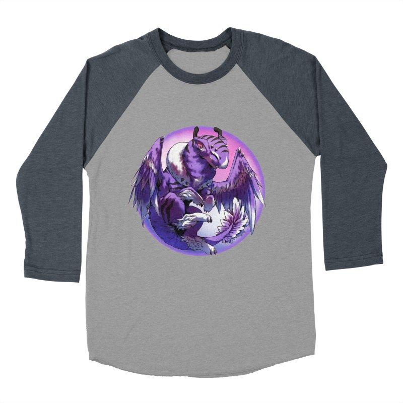 Fleeting Dream Snowglobe Men's Baseball Triblend Longsleeve T-Shirt by AdeptGamer's Merchandise