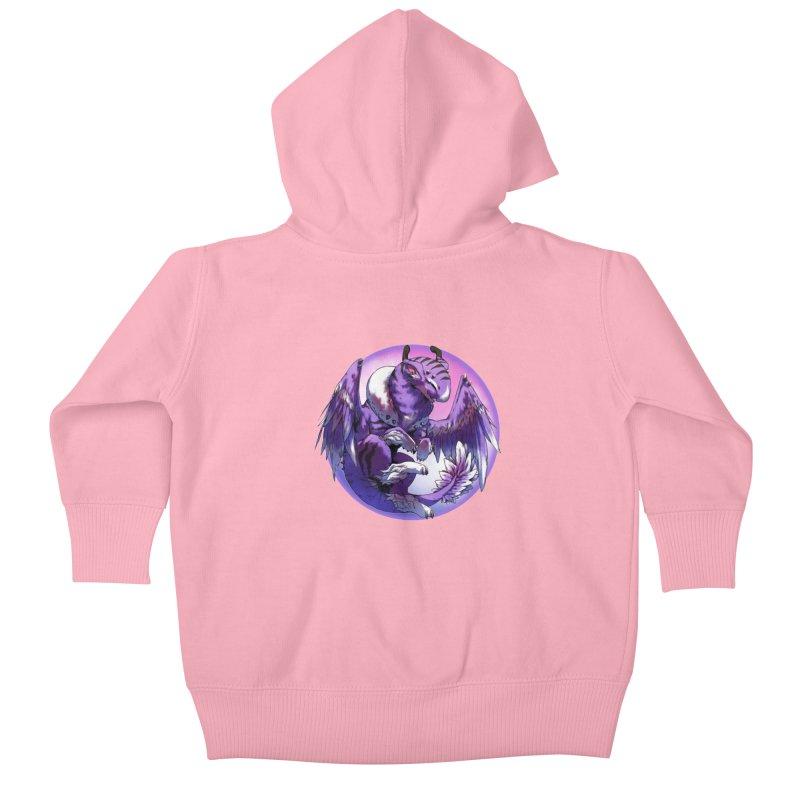 Fleeting Dream Snowglobe Kids Baby Zip-Up Hoody by AdeptGamer's Merchandise
