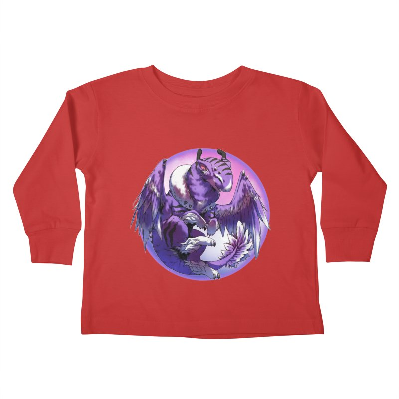 Fleeting Dream Snowglobe Kids Toddler Longsleeve T-Shirt by AdeptGamer's Merchandise