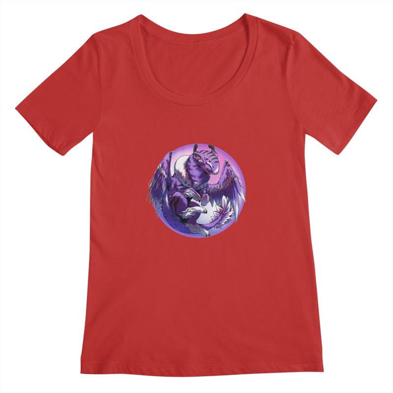 Fleeting Dream Snowglobe Women's Regular Scoop Neck by AdeptGamer's Merchandise