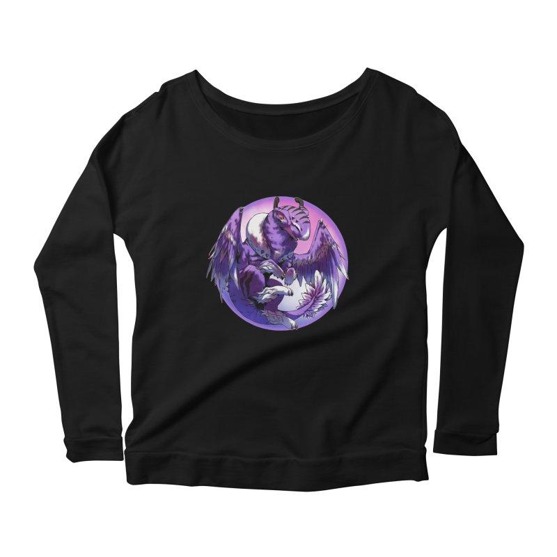 Fleeting Dream Snowglobe Women's Longsleeve Scoopneck  by AdeptGamer's Merchandise