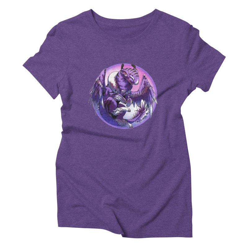 Fleeting Dream Snowglobe Women's Triblend T-Shirt by AdeptGamer's Merchandise