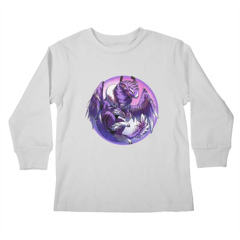 Fleeting Dream Snowglobe Kids Longsleeve T-Shirt by AdeptGamer's Merchandise