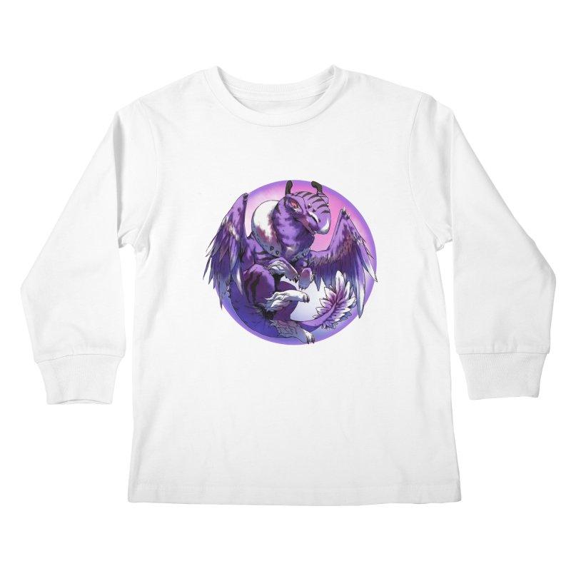 Fleeting Dream Snowglobe Kids Longsleeve T-Shirt by AdeptGamer's Merchandise