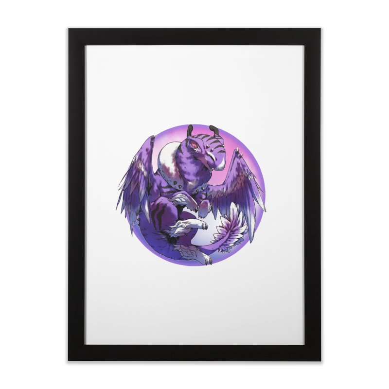 Fleeting Dream Snowglobe Home Framed Fine Art Print by AdeptGamer's Merchandise