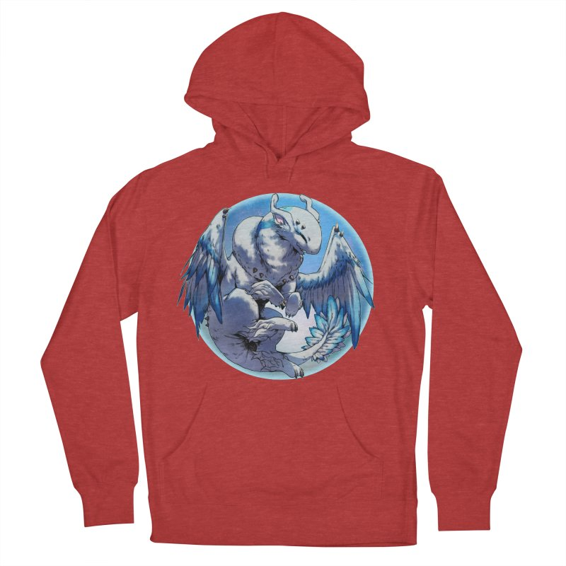 FroYo Snowglobe Men's French Terry Pullover Hoody by AdeptGamer's Merchandise