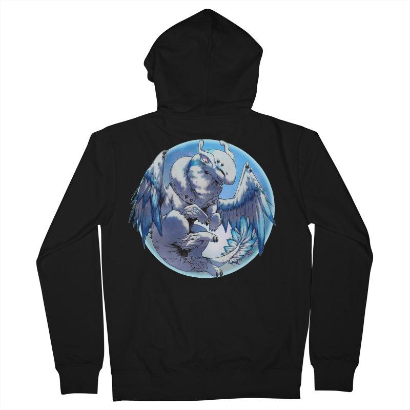 FroYo Snowglobe Men's Zip-Up Hoody by AdeptGamer's Merchandise