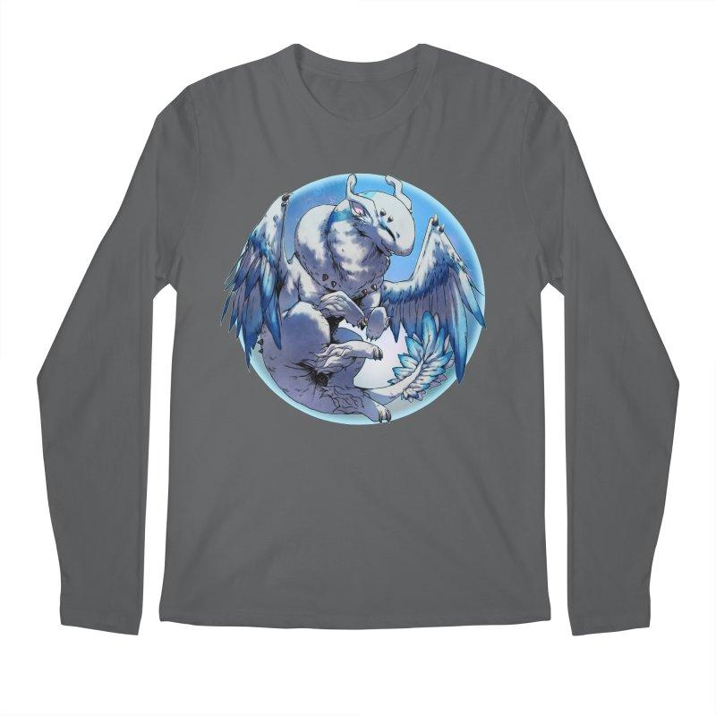 FroYo Snowglobe Men's Regular Longsleeve T-Shirt by AdeptGamer's Merchandise