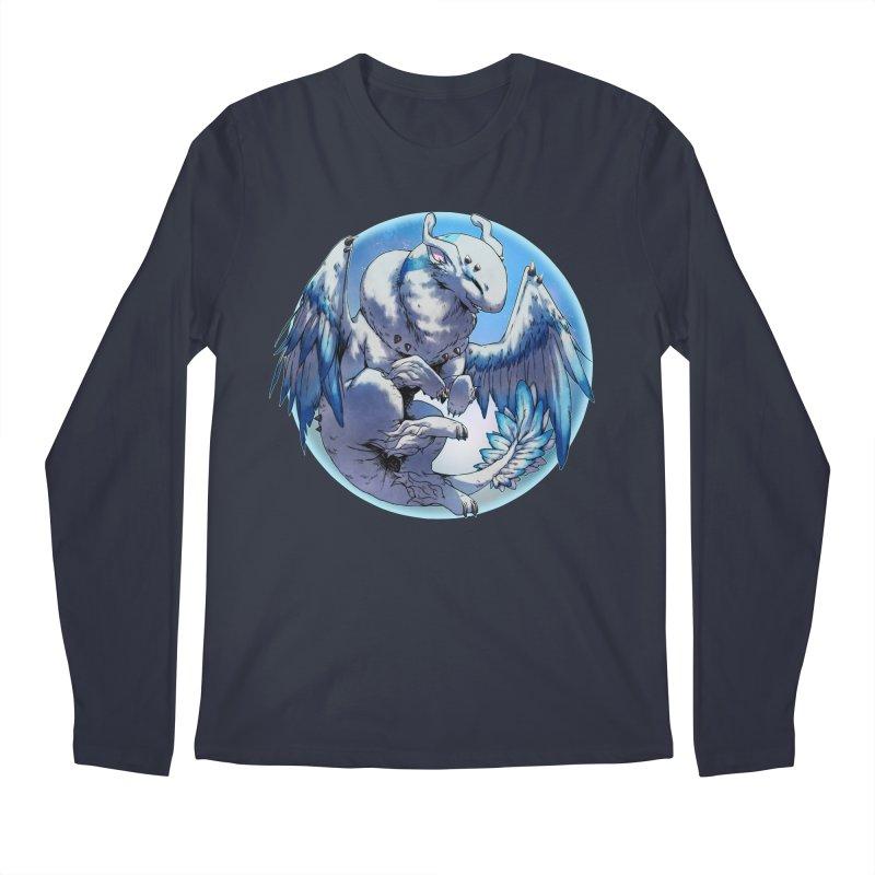 FroYo Snowglobe Men's Longsleeve T-Shirt by AdeptGamer's Merchandise