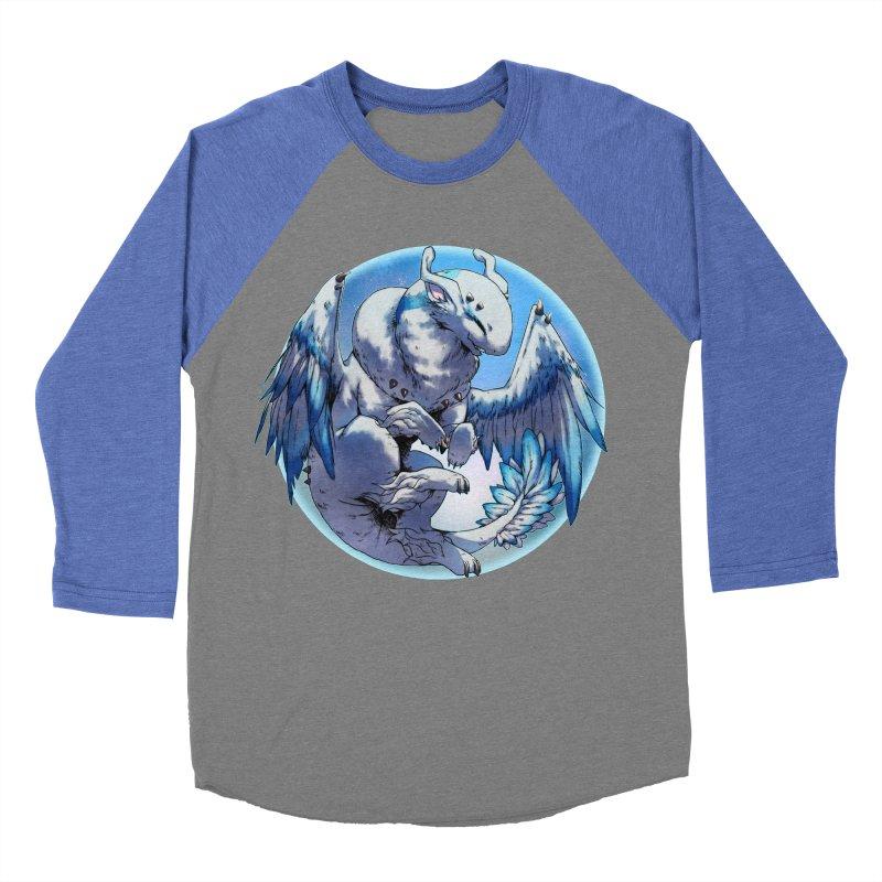 FroYo Snowglobe Women's Baseball Triblend T-Shirt by AdeptGamer's Merchandise