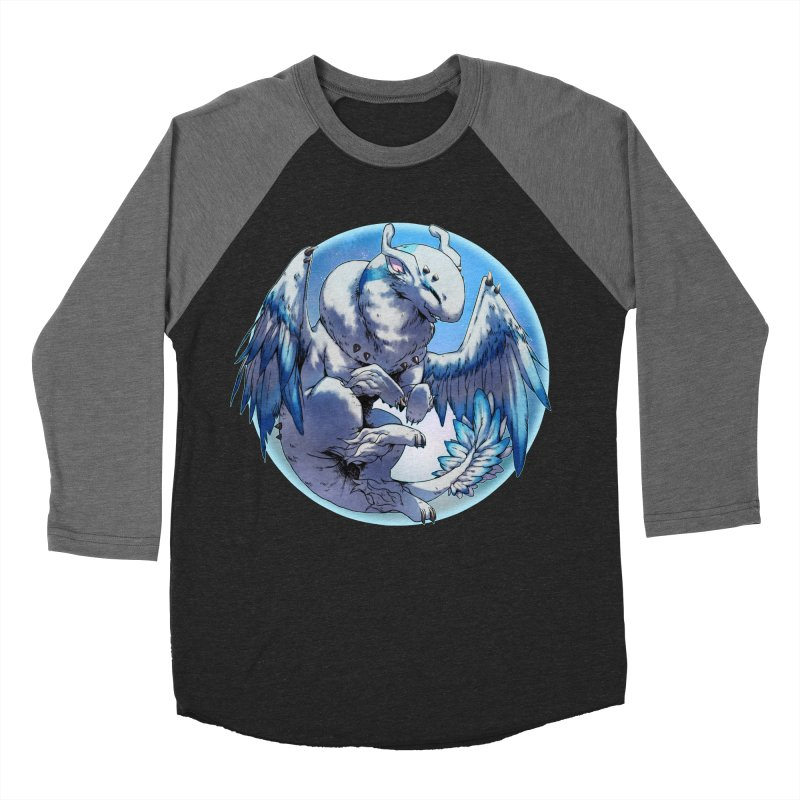 FroYo Snowglobe Women's Baseball Triblend Longsleeve T-Shirt by AdeptGamer's Merchandise