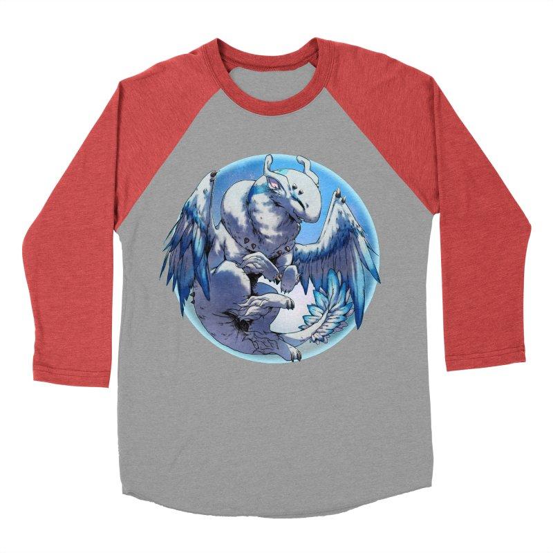 FroYo Snowglobe Men's Baseball Triblend T-Shirt by AdeptGamer's Merchandise