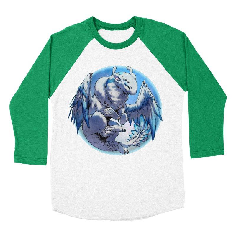 FroYo Snowglobe Men's Baseball Triblend Longsleeve T-Shirt by AdeptGamer's Merchandise