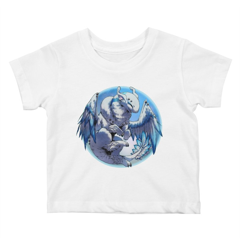 FroYo Snowglobe Kids Baby T-Shirt by AdeptGamer's Merchandise