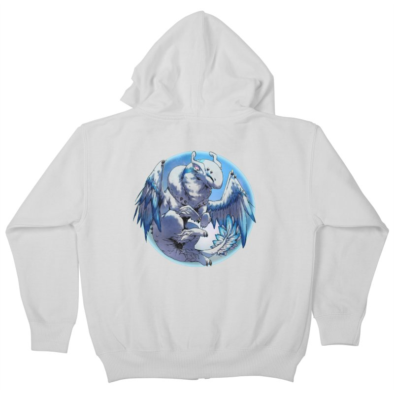 FroYo Snowglobe Kids Zip-Up Hoody by AdeptGamer's Merchandise