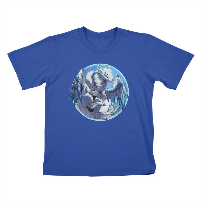 FroYo Snowglobe Kids T-Shirt by AdeptGamer's Merchandise