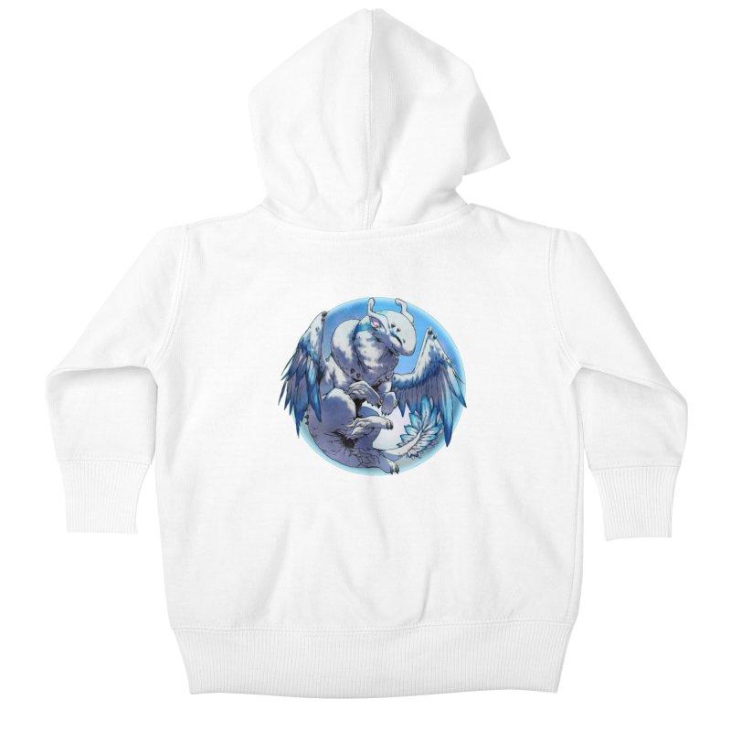 FroYo Snowglobe Kids Baby Zip-Up Hoody by AdeptGamer's Merchandise