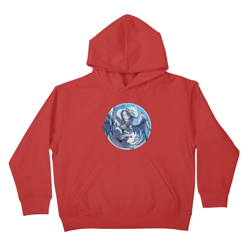 FroYo Snowglobe Kids Pullover Hoody by AdeptGamer's Merchandise