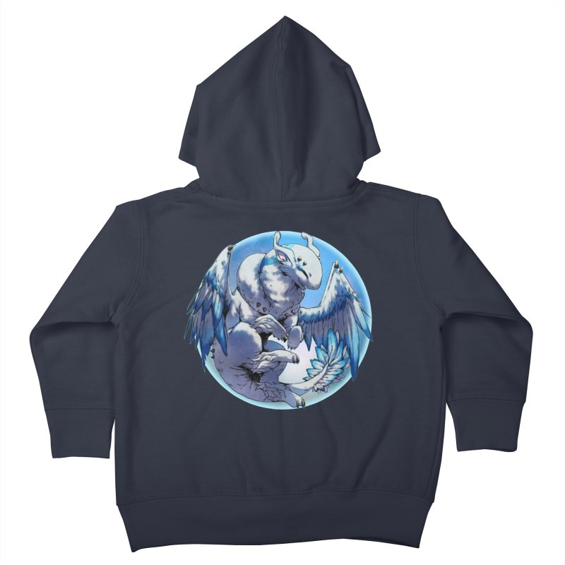 FroYo Snowglobe Kids Toddler Zip-Up Hoody by AdeptGamer's Merchandise