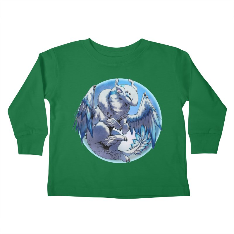 FroYo Snowglobe Kids Toddler Longsleeve T-Shirt by AdeptGamer's Merchandise