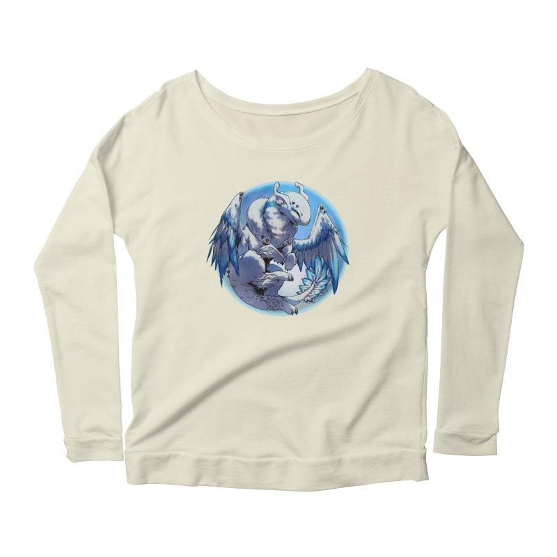 FroYo Snowglobe Women's Scoop Neck Longsleeve T-Shirt by AdeptGamer's Merchandise