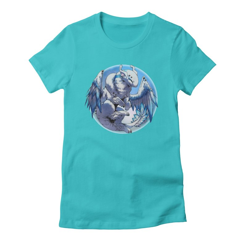 FroYo Snowglobe Women's Fitted T-Shirt by AdeptGamer's Merchandise