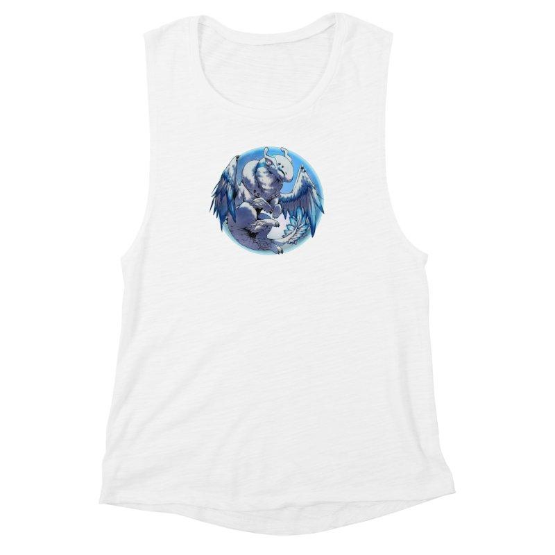 FroYo Snowglobe Women's Muscle Tank by AdeptGamer's Merchandise