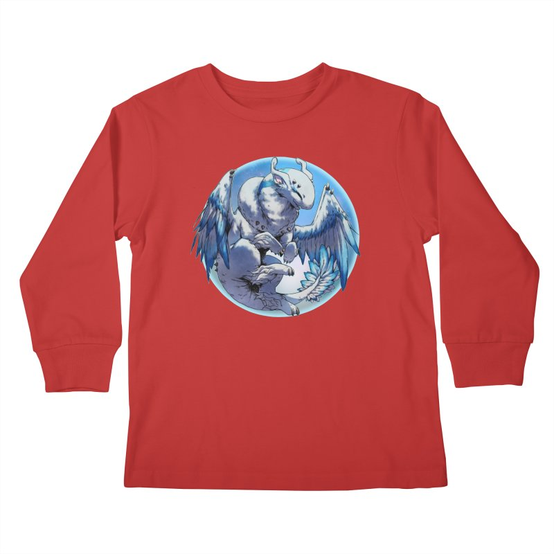 FroYo Snowglobe Kids Longsleeve T-Shirt by AdeptGamer's Merchandise