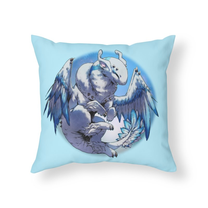 FroYo Snowglobe Home Throw Pillow by AdeptGamer's Merchandise